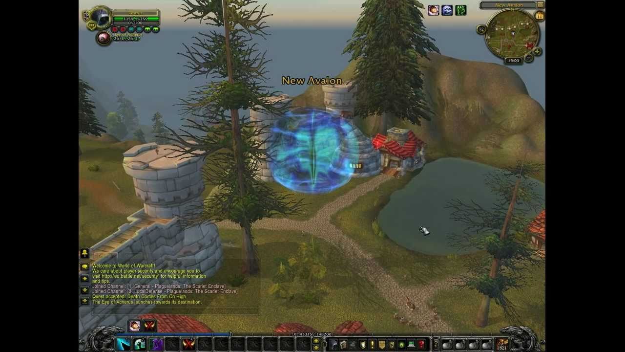 World Of Warcraft Wow Dk Quest Comes From On High Hd