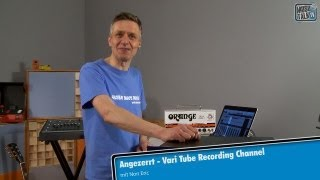 Test - Tegeler Audio Manufaktur Vari Tube Recording Channel - deutsch