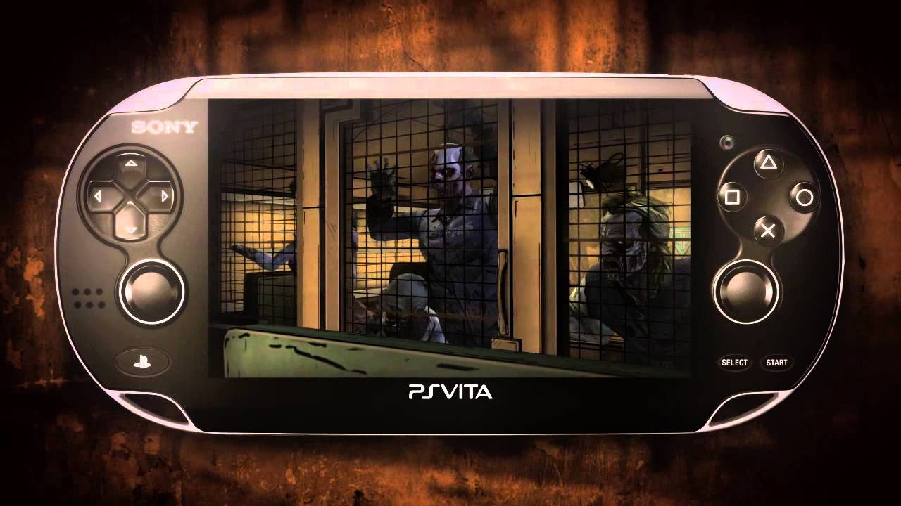 Lee and Clementine invade the PlayStation Vita