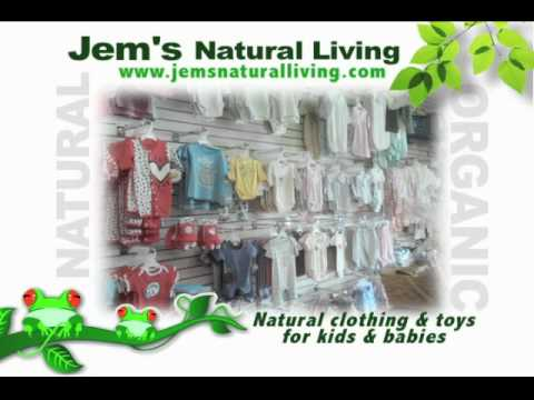 Jem's Natural Living, A Tampa Store that sells Organic, Natural products for You and Your Family.