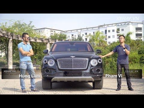 Đánh giá SUV siêu sang Bentley Bentayga 1st Edition 1,2 triệu đô tại Việt Nam |XEHAY.VN|