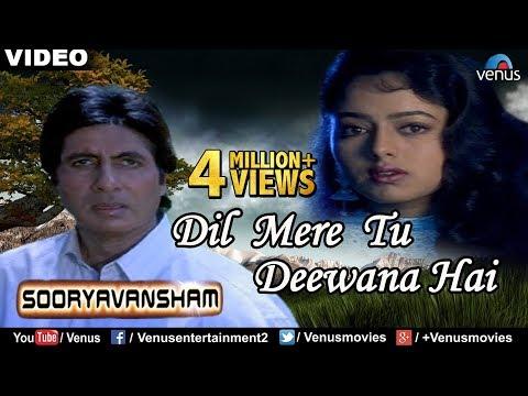 Dil Mere Tu Deewana Hai - Male (Part 2) | Sooryavansham | Amitabh Bachchan, Soundarya | Kumar Sanu