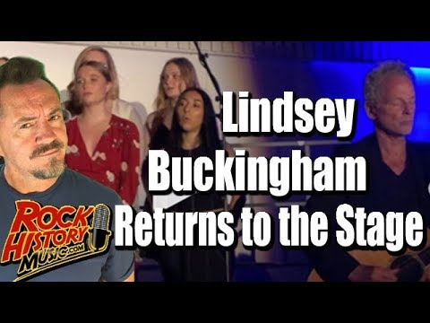 Christie James - Lindsay Buckingham Performs For 1st Time Since Heart Surgery