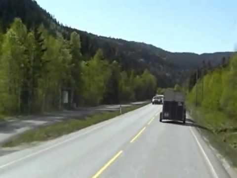 norway between Voss and Ulvik