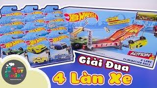 12 xe Hotwheels mới toanh tranh tài trên đường đua 4 làn khốc liệt ToyStation 406