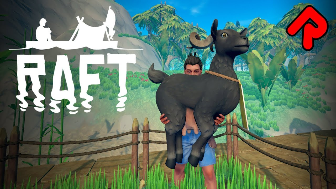 WE'RE GOAT FARMERS NOW!   RAFT Domesticated Update adds Llamas