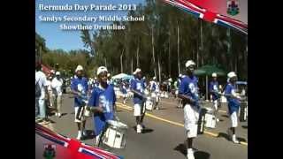 Bermuda Day Parade 2013 Video Clips Part 4