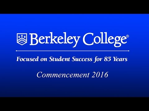 Berkeley College Commencement 2016
