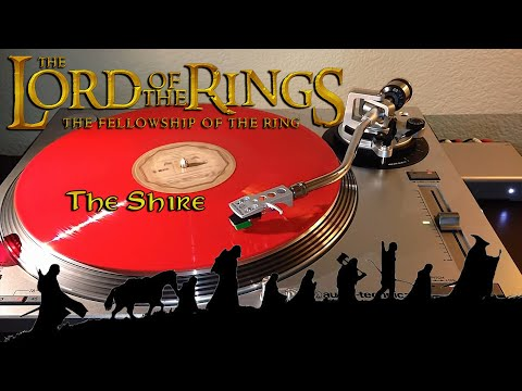 LOTR (OST) - The Shire - The Complete Recordings Red Vinyl LP