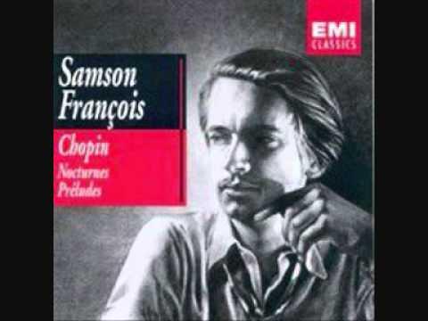 Samson François   Chopin   Nocturne No 2 in flat major, Op 9