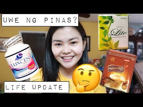 BACK TO LUXCENT,UWE NG PINAS? LIFE UPDATE AND MORE