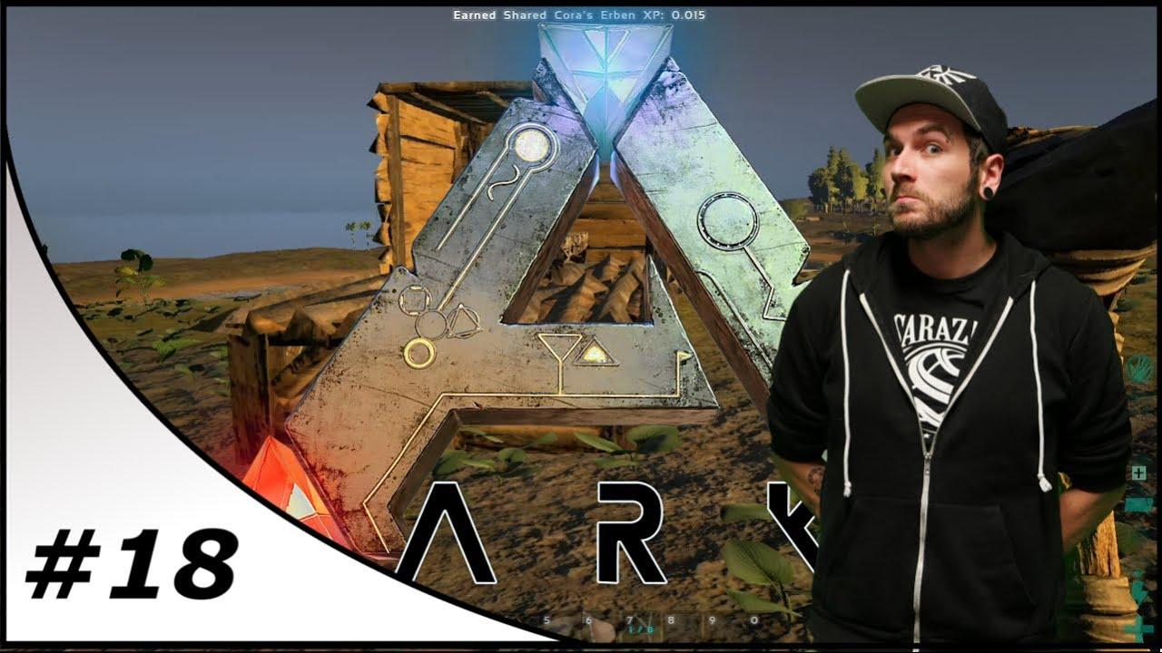 ark survival evolved 18 holz vor der h tte together gameplay let 39 s play ark youtube. Black Bedroom Furniture Sets. Home Design Ideas