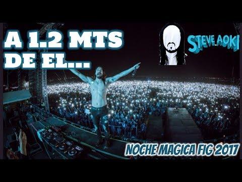 🎧 STEVE AOKI LEON, GTO FIG 2017 MEXICO | LUISITO REY FIG 17 | ASI SE VIVIO NOCHE MAGICA FIG 2017