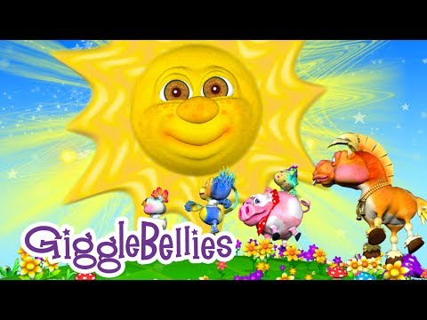 Mr. Sun, Sun, Mister Golden Sun | Nursery Rhymes | GiggleBellies