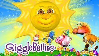 """Mr. Sun, Sun, Mister Golden Sun"" with The GiggleBellies -  Music Video fo Kids Preview"
