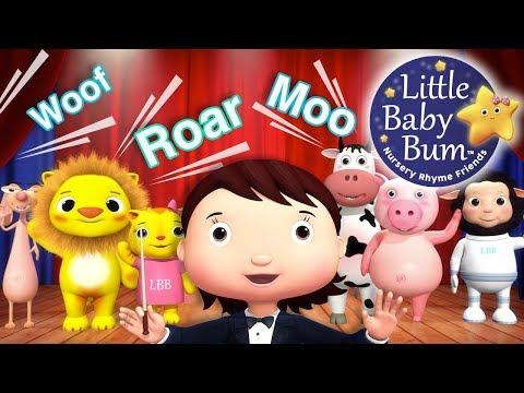 Animal Sounds Song   Part 2   Nursery Rhymes   Original Songs For Kids by LittleBabyBum!