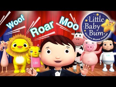 Download Youtube: Animal Sounds Song | Part 2 | Nursery Rhymes | Original Songs For Kids by LittleBabyBum!