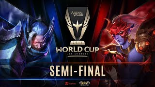 RoV : World Cup 2018 Day 6 - Semi Final & Lower Bracket