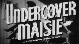 Undercover Maisie 1947 Trailer