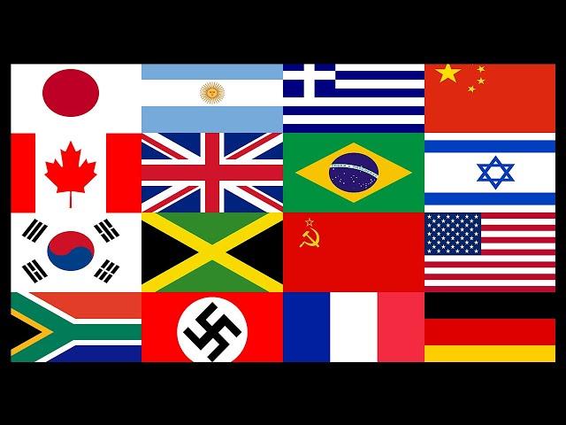 Le pouvoir des beaux drapeaux