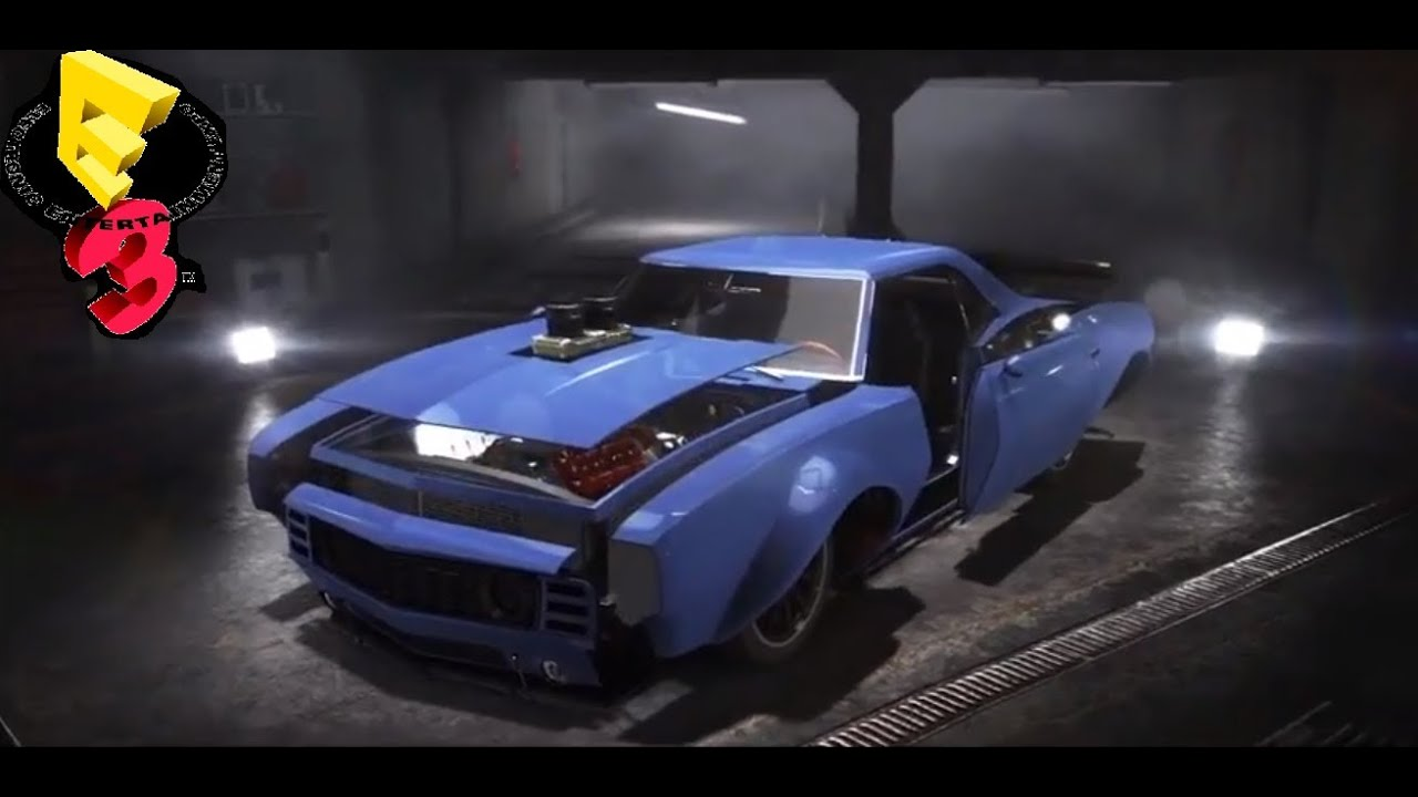 The Crew Confirmed Cars And Tuning Sets Ubisoft E3 Youtube