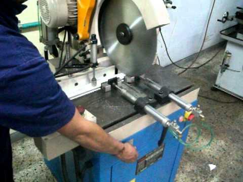 Sierra circular corte aluminio c 420 2as youtube - Sierra de corte circular ...