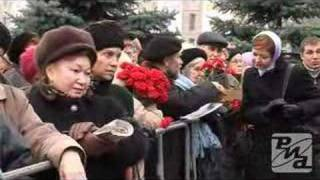 Victims of Political Repression Remembered. Video RIA Novost