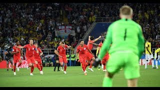Gambar cover England Wins.  Everyone Goes Nuts.