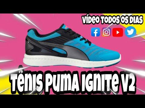 1375443a83d Tênis Puma Ignite V2 - YouTube