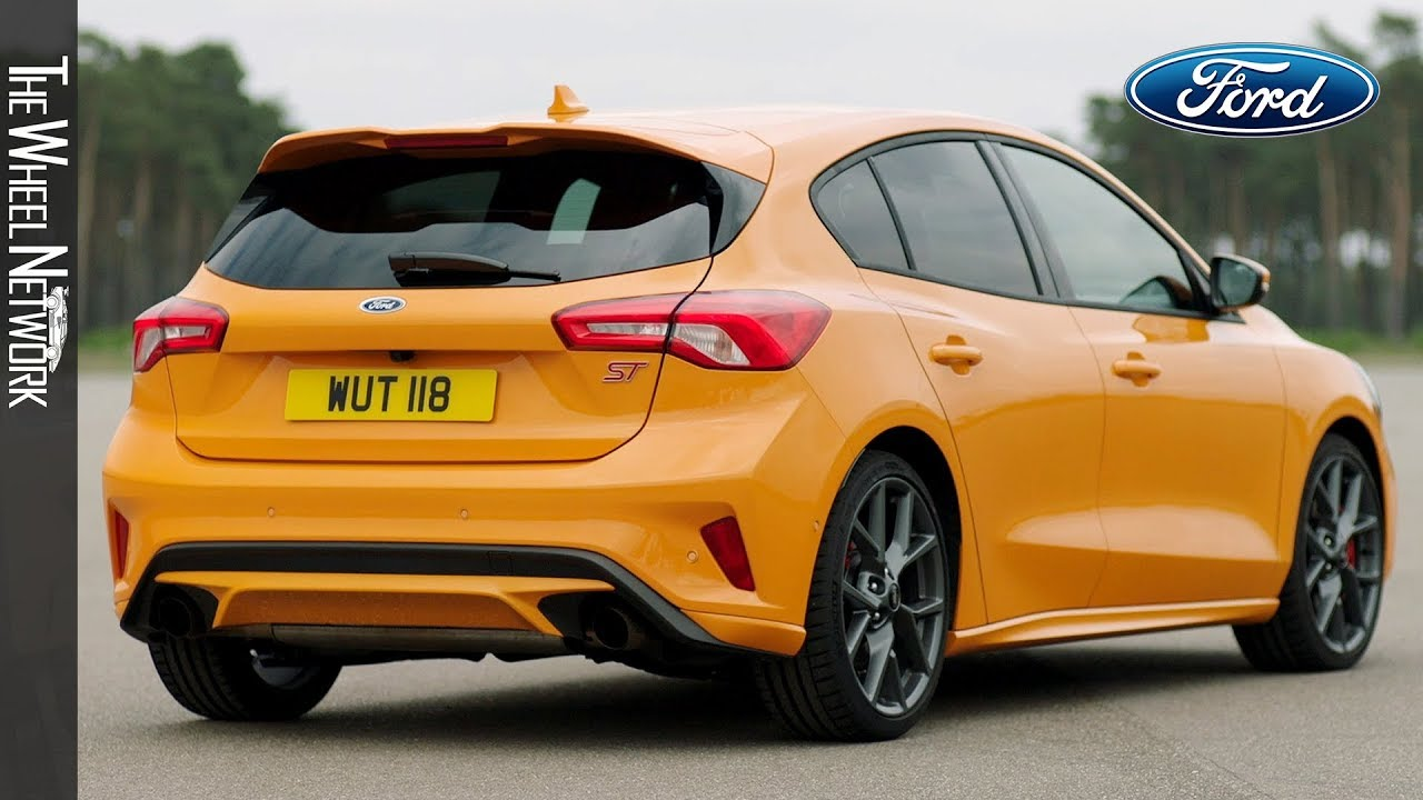 2020 Ford Focus St Orange Fury Exterior Interior