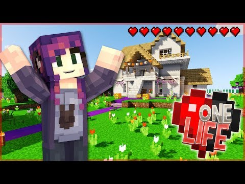 BUILDING A NEW HOUSE!! - One Life Season 2 Minecraft SMP- Ep. 25