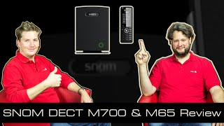 Snom M700 & M65 DECT Review [english]