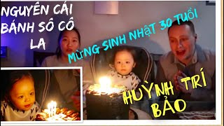 Vlog 514 ll Bí Mật Mua Nguyên Cái Bánh Kem Sô Cô La Mừng Sinh Nhật Anh Trai Tại Mỹ