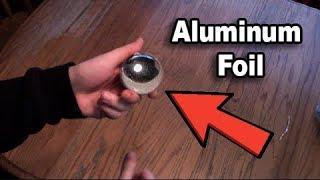 Quick DIY: Aluminim Foil Ball