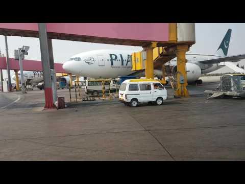 Karachi Airport - Airside Tour 1