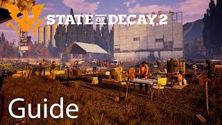 State of Decay 2 Character Guide, Home Base Tips and Tricks