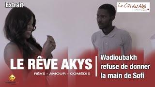 Wadioubakh refuse de donner la main de sofi