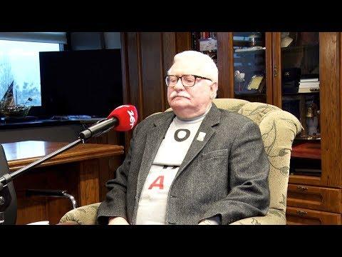 Wałęsa o Kaczyńskim: Ja go kocham jako człowieka