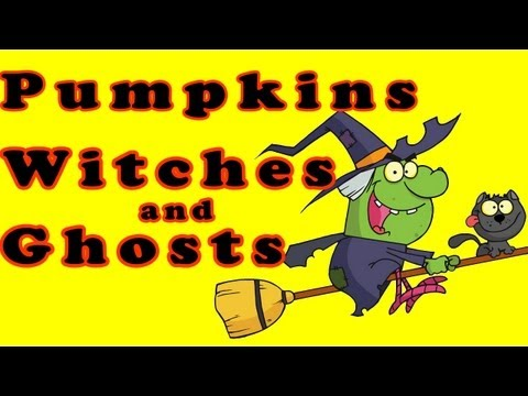 Halloween Song ♫ Halloween Songs For Children ♫ Halloween  ♫ Pumpkin Witches and Ghosts ♫ Kids Songs