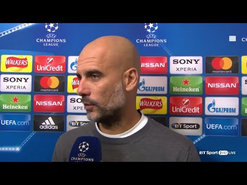 """Guardiola: We didn't get the decisions, but well done to Liverpool."""""""