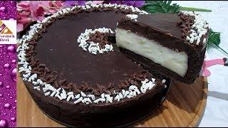 Bu Kışın fenomen PASTASI olacak🔝📈 muhallebili çikolatalı pasta tarifi Pratik Yemek Tarifleri Video