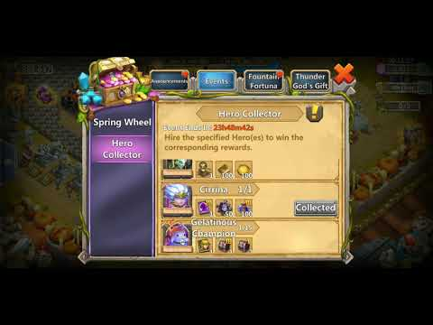 Castle Clash Opening Pet Bags 3 For Reapster