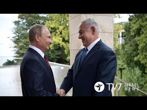 Netanyahu sends a congratulatory letter to Putin, after his reelection - TV7 Israel News 20.03.18
