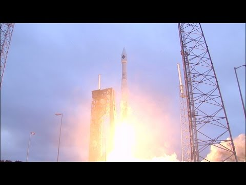 Cygnus CRS Orb-4 launches to the International Space Station