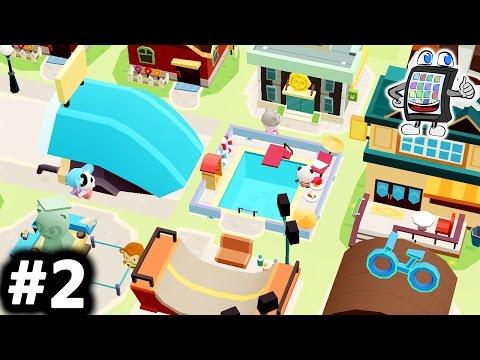 DR PANDA HOOPA CITY 2 #2 Deutsch - WIR BAUEN TUNNEL! HOOPA CITY BEI NACHT! App Android & iOS