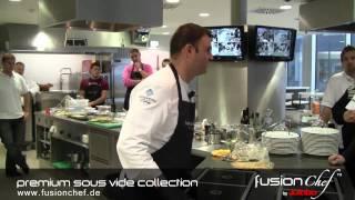 fusionchef by Julabo - Sous Vide Kochkurs Vienna 2011 mit Oliver Scheiblauer
