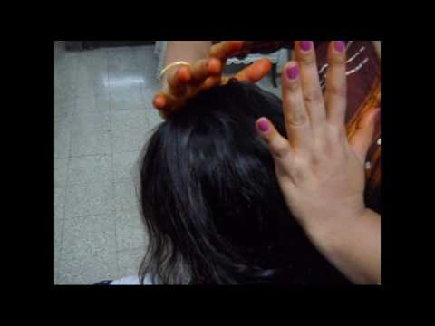Get Healthy Hair Everyday. Brushing method to improve Blood circulation