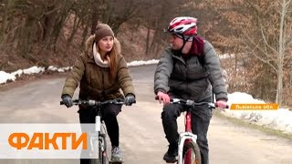 320 км станцияларымен және жөндеу үшін визит-орталығы: жаңа веломаршрут арналған Львовщине