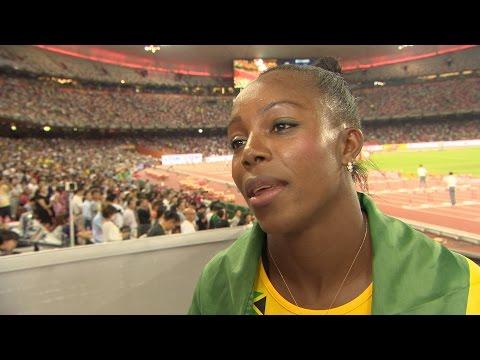 WCH 2015 Beijing - Veronica Campbell Brown JAM 200m Final Bronze
