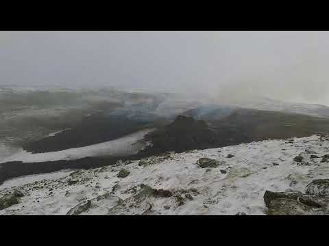 Iceland Volcanic Eruption LIVE with Sound